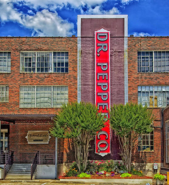Birmingham Wall Art - Photograph - Dr Pepper Place - Birmingham Alabama by Mountain Dreams