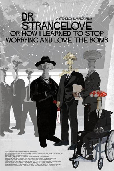 Cold War Digital Art - Dr Strangelove Alternative Poster by Edgar Ascensao