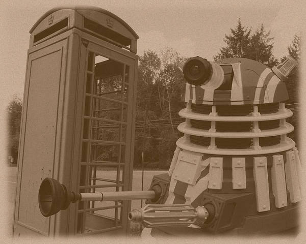 Photograph - Dr Who - The Wrong Box by Richard Reeve