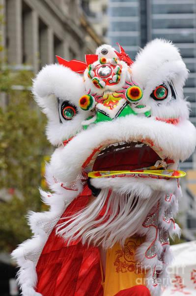 Photograph - Dragon At Chinese New Year Parade  by David Hill