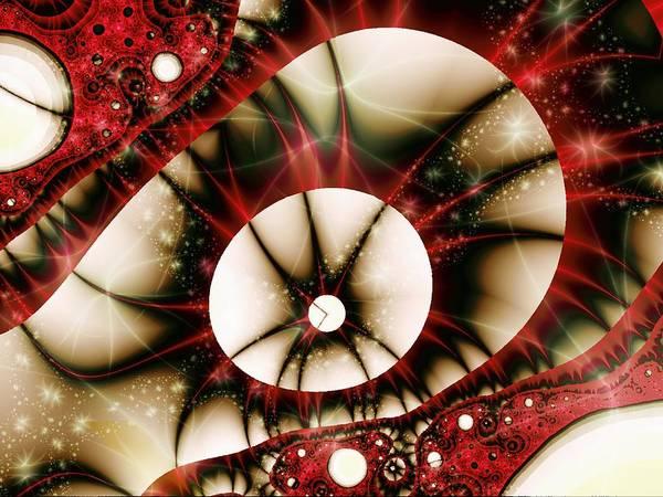 Digital Art - Dragon Eye by Anastasiya Malakhova