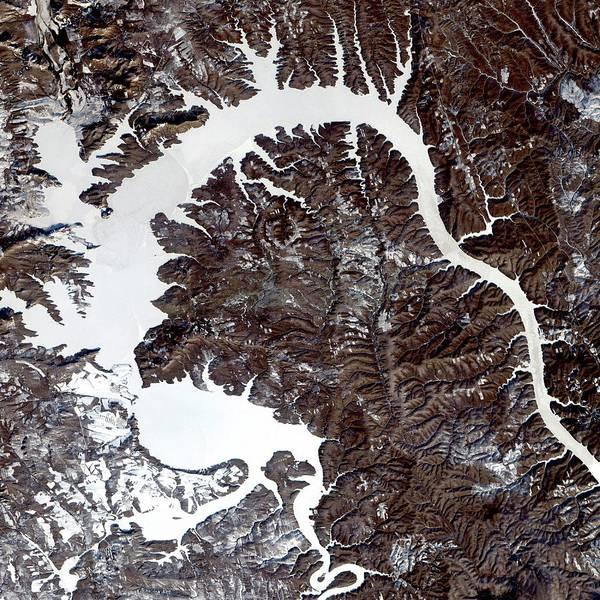 Wall Art - Photograph - Dragon Lake by Nasa/science Photo Library