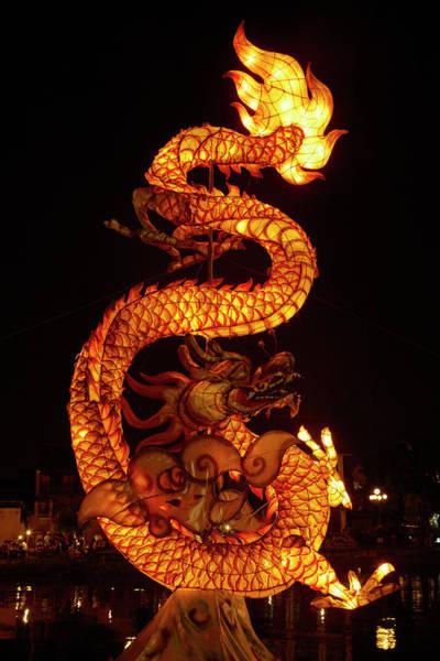 Hoi An Photograph - Dragon Lantern, Hoi An, Vietnam by David Wall