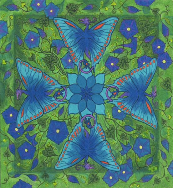 Dragonala Summer Art Print