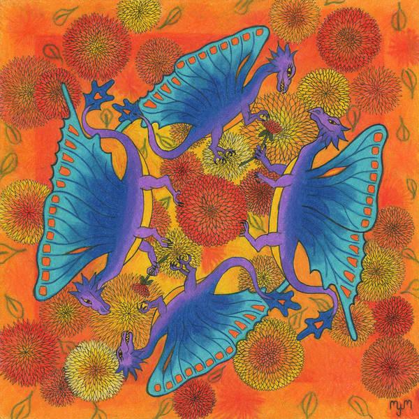 Dragondala Fall Art Print