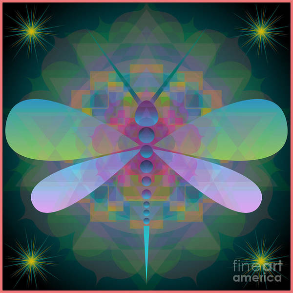 Dragonfly 2013 Art Print