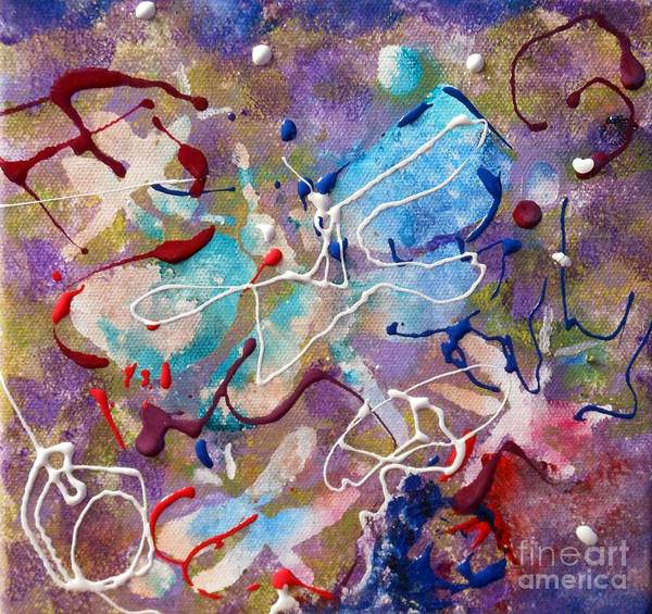 Painting - Dragonfly Dreams by Pam Halliburton