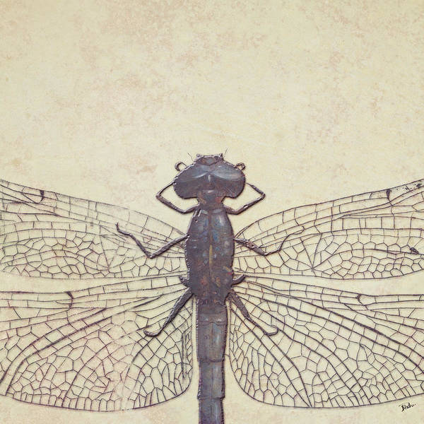Art Nouveau Mixed Media - Dragonfly by Patricia Pinto
