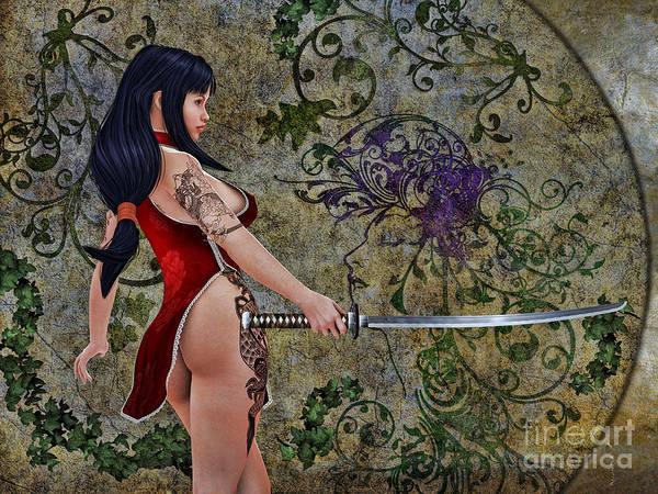 Wall Art - Digital Art - Dragons Fang by Alexander Butler