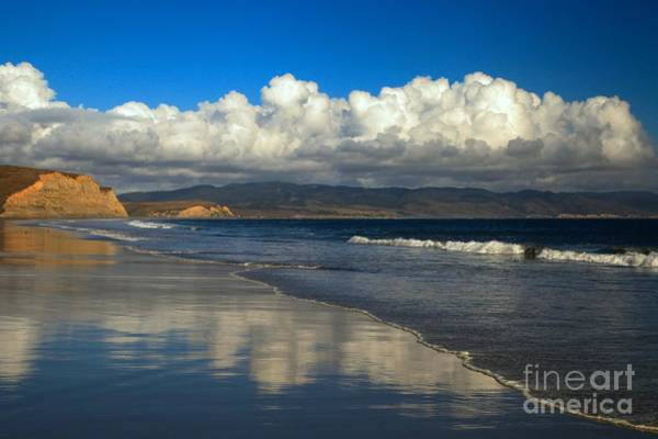 Photograph - Drakes Beach Reflections by Adam Jewell