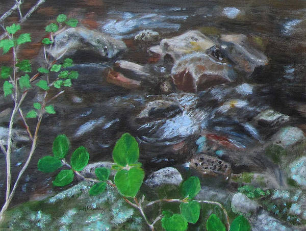 Painting - Drakes Brook by Linda Feinberg