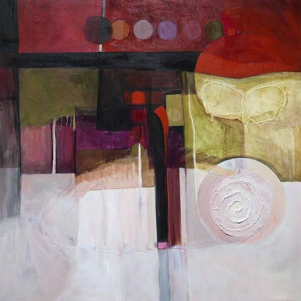 Painting - Drama Too by Marlene Burns