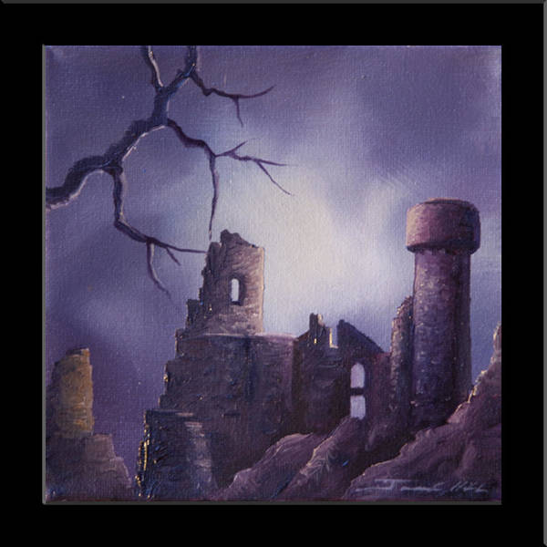 Painting - Dramar Castle by James Christopher Hill