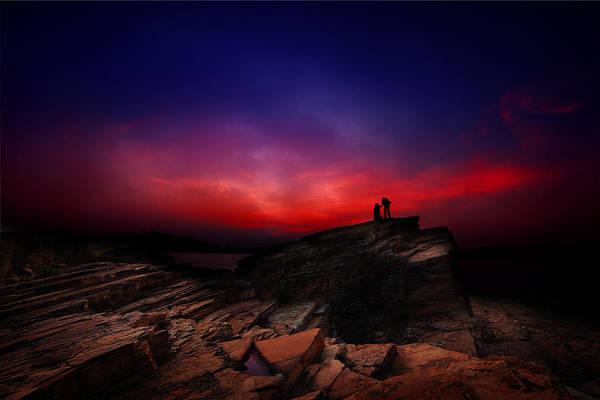 Hongkong Photograph - Dramatic Dawn by Afrison Ma