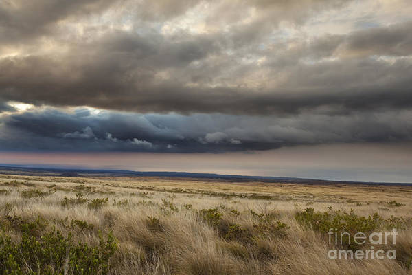 Photograph - Dramatic Hawaii Clouds by Charmian Vistaunet