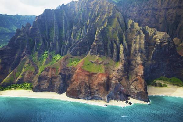 Wall Art - Photograph - Dramatic Kauai Aerial by Kicka Witte