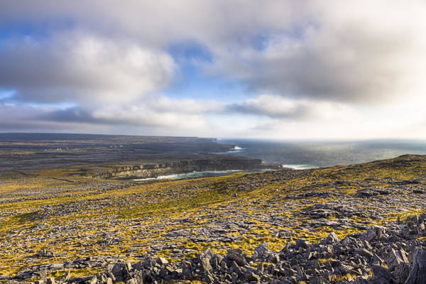 Photograph - Dramatic Landscape Of The Aran Islands by Mark Tisdale