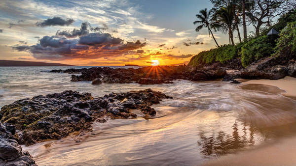 Photograph - Dramatic Maui Sunset by Pierre Leclerc Photography