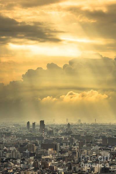 Photograph - Dramatic Osaka by Didier Marti