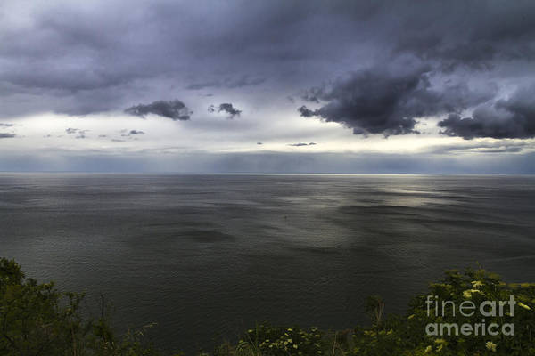 Photograph - Dramatic Seascape From Promontory by Pier Giorgio Mariani