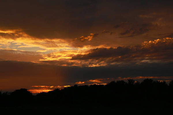 Photograph - Dramatic Sunset by Scott Hovind