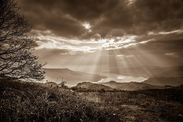 Awe Photograph - Dramatic Umbrian Sky by W Chris Fooshee