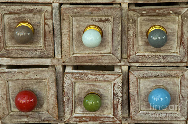 Lourmarin Photograph - Drawer Knobs by Bob Phillips