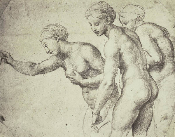 Villa Drawing - Drawing By Raphael In The Collection Of Windsor Castle by Artokoloro