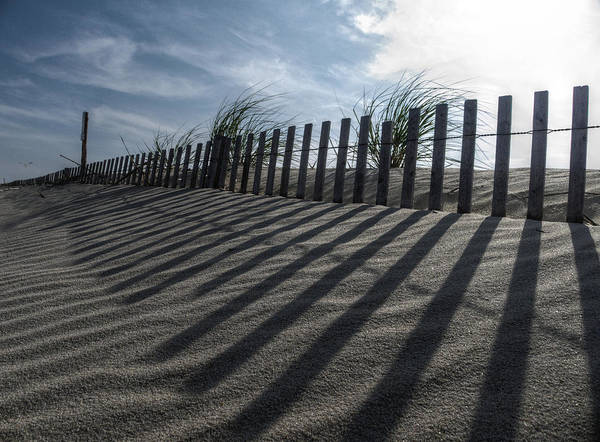Photograph - Drawing Lines In The Sand by Richard Reeve
