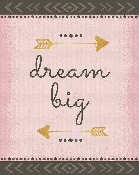 Wall Art - Painting - Dream Big by Nd Art & Design
