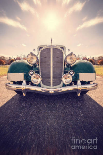 Old Car Wall Art - Photograph - Dream Car by Edward Fielding