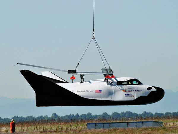 Corporations Wall Art - Photograph - Dream Chaser Spacecraft Test by Nasa/sierra Nevada Corporation