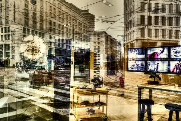 Photograph - Dream Cityscape #1 by Roberto Pagani