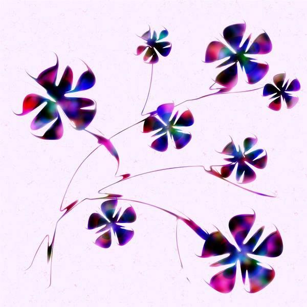 Digital Art - Dream Flowers by Anastasiya Malakhova