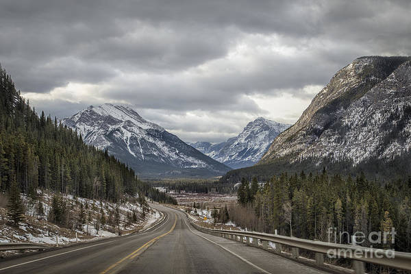 Canadian Rocky Mountains Photograph - Dream Journey by Evelina Kremsdorf