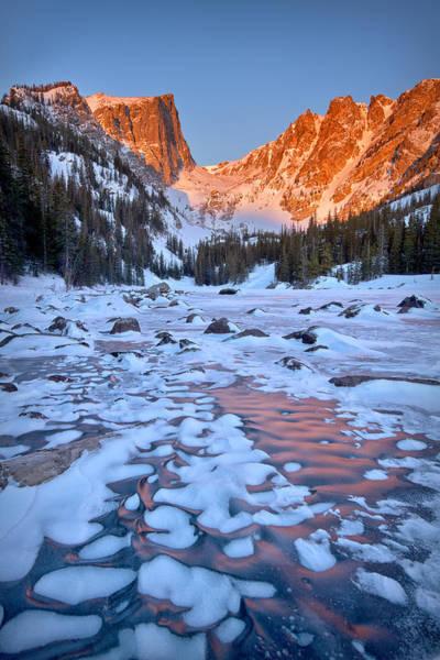 Wall Art - Photograph - Dream Lake - Rocky Mountain National Park by Ronda Kimbrow