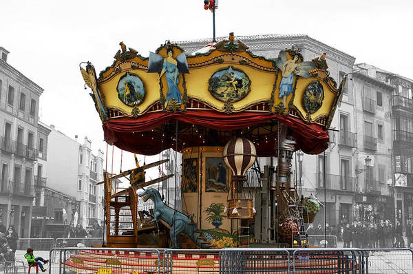 Photograph - Dream Of A Carousel In Color by Lorraine Devon Wilke