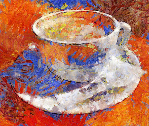 Delicious Digital Art - Dream Of Cofee by Yury Malkov