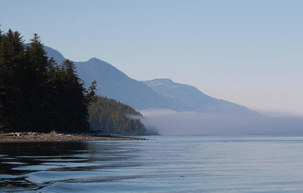 Vancouver Island Photograph - Dream Seascape With Fog Rolling In And by Anna Henly