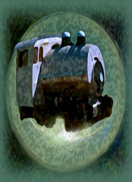 Painting - Dream Train by Dennis Buckman