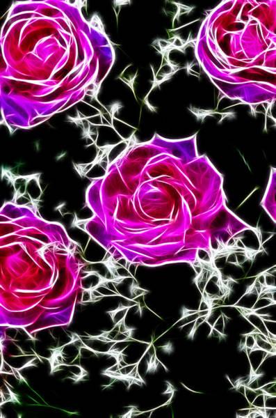 Digital Art - Dream With Roses by Sotiris Filippou