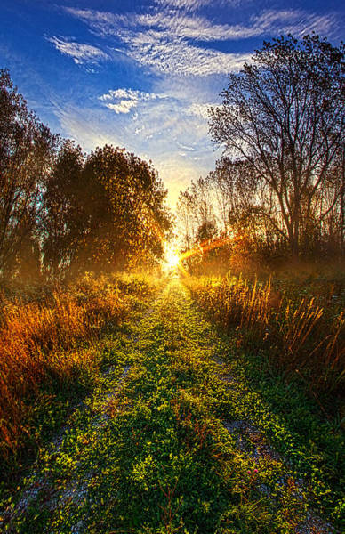 Back Road Photograph - Dream With Your Eyes Open by Phil Koch