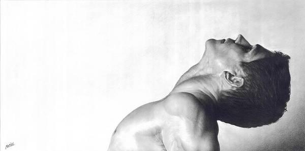 Male Model Drawing - Dreamer by Maciel Cantelmo
