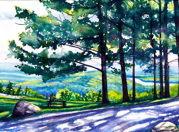 Adirondack Mountains Painting - Dreaming On A Mountain by Patricia Allingham Carlson