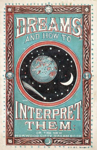 Interpret Drawing - Dreams And How To Interpret  Them, Or by Mary Evans Picture Library