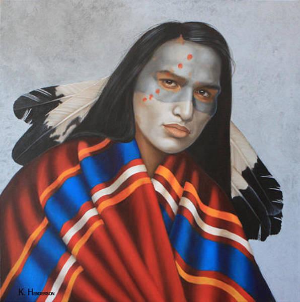 Wall Art - Painting - Dreams By Night By K Henderson by K Henderson