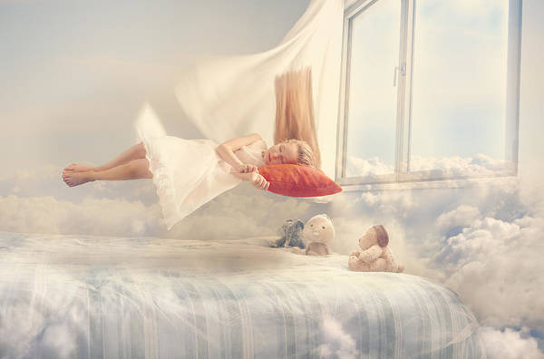 Bed Photograph - Dreams by Evgeny Loza