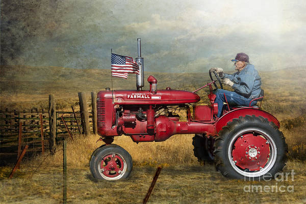 Farmall Photograph - Dreams Of Yesteryear by Betty LaRue