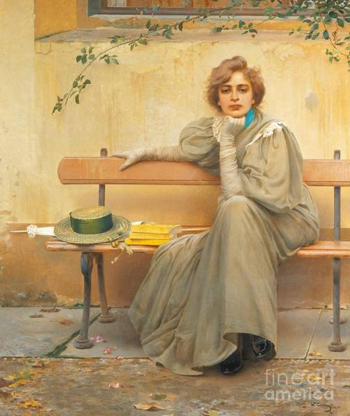 Wall Art - Painting - Dreams  by Vittorio Matteo Corcos