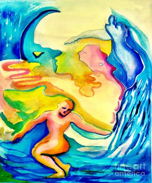 Painting - Dreamscape 1 by Nancy Wait